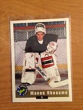 Lot of 15 Manon Rheaume hockey cards inserts, RCs +