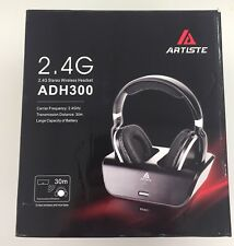 2018 Original ARTISTE ADH300 Rechargeable Wireless HiFi Headset For TV