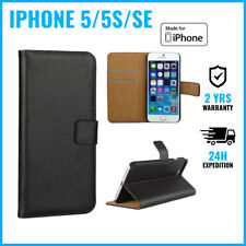 Wallet Flip Case Cover Cas Coque Etui Portefeuille Hoesje For iPhone 5 5S SE