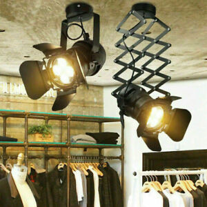 Vintage E27 spotlight theatre stage lighting window display ceiling light