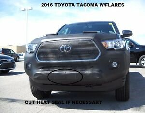 Lebra Front End Mask Cover Bra Fits 2016-2021 TOYOTA Tacoma With Flares 16-21