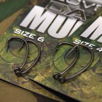New Gardner Tackle Covert Dark Mugga Hooks - All Sizes Barb - Carp Fishing Setup