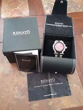 Renato Men's Beast Stainless Steel & Rubber Watch
