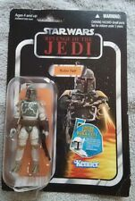 """Star Wars BOBA FETT 3.75"""" Figure VC09 ROTJ Variant The Vintage Collection TVC"""