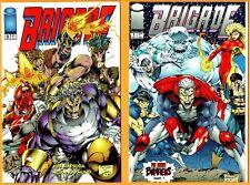 4 Brigade-Image Comic Book Lot- Issue #s 0, 1, 2, & 3(1993)