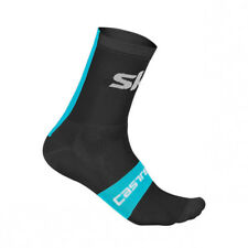 Team SKY CASTELLI 2018 Rosso Corsa 13 CM Pro Cycling Socks BLACK One Pair