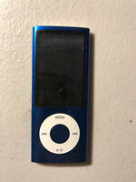 Apple iPod Nano 5th Gen 8GB Blue Battery Need replacing