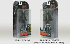 SDCC 2015 WALKING DEAD MICHONNE FIGURES EXCLUSIVE BLACK & WHITE BLOODY & COLOR
