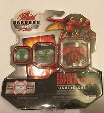 ! Bakugan Super Assault Bakutremor Red