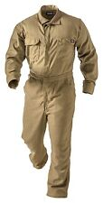 NEW Tecgen SELECT 5.5 oz Deluxe FLAME Resistant FR Coverall Khaki 3X-Large021208