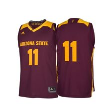 Arizona State Sun Devils NCAA Men s March Madness Maroon  11 Basketball  Jersey 5d35e6af5