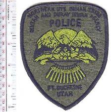 Tribal Indian Police Utah Ute Indian Tribe Reservation Police Depart Uintah acu