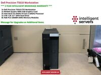 Dell T5610 Workstation, 2x Xeon E5-2650 V2 2.60GHz, 32GB, 1TB HDD, Quadro 4000