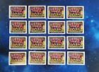 16x PANINI UEFA Champions League 2010/11 Sticker - Barcelona 08/09 - Messi #552