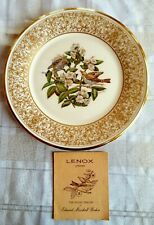 Vtg. 1970 Lenox Boehm Ltd. 1St Edition Bird Collector Plate~Wood Thrush w/ Paper