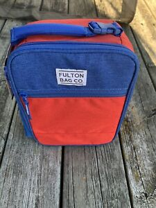 Fulton Bag Co. Insulated Lunch Box. Brand New