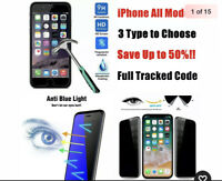 9h Privacy Anti-blue Ray Tempered Glass Eye Protector iPhone 5, 5C, 5s USA shipp
