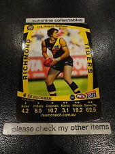 2011 AFL TEAMCOACH BASE CARD RICHMOND NO.178 ANGUS GRAHAM