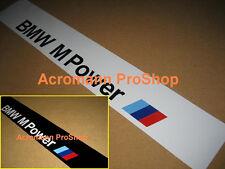 """53"""" BMW M Power Windshield Sunstrip banner Decal Sticker 1M M3 M4 M5 M6 Z3 Z4 X6"""