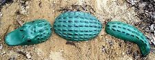 "3 piece alligator mold mould Total size 18""L x 4""W in the center piece"