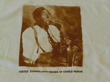 Charlie Parker Shirt Mens Xl Veritas Evening With Friends Of Jazz