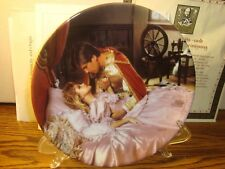 """Vintage Charles Gehm """"SLEEPING BEAUTY"""" Grimm's Fairy Tales Collectible Plate """"86"""