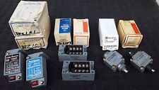 Lot of 2 Westinghouse DPST Limit Switch 2NC/2NO LSBSCN & LSRB & E50DH1 Actuator
