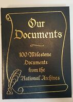 Easton Press Our Documents 100 Milestone Documents National Archives 2003