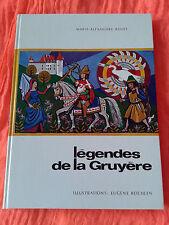 LEGENDES DE LA GRUYERE - MARIE-ALEXANDRE BOVET