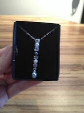 Avon Carola Genuine Freshwater Pearl Drop Necklace