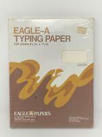 VTG Eagle-A Typewriter Paper 100 Sheets 8.5 x 11 Radiant White Trojan Bond NOS