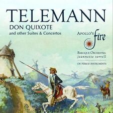 Apollos Fire - Telemann Don Quixote And Other Suites and Concertos [CD]