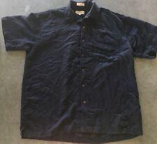 MEN'S EIGHTY EIGHT Dress shirt size L DARK BLUE