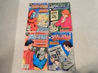 The World Of Smallville Lot Of 4 DC Copper Age Comic Book Lot FN/VF