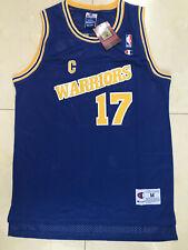 Chris Mullin Retro Warriors Basketball Jersey #17 Stitched Throwback Blue S-XXL