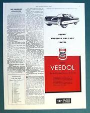 Original 1951 Flying A &  Veedol Ad Custom Coupe de Ville for Dream Car Salon