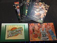 LARRY BIRD 1992-93 Upper Deck HEROES Complete 10 Card SET With HEADER Celtics