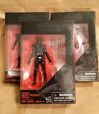 "STAR WARS BLACK SERIES 6"" IMPERIAL DEATH TROOPER LOT 3 Rogue One Army Builder"