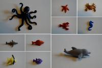 Schleich 10091-10100 Minis See Tiere sea animals Mini Raritäten zur Auswahl
