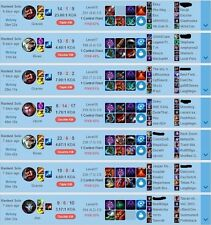 League of Legends Elo boosting ( NA SERVER ) (BOOST UP TO MASTERS)  S6 - RANK 34