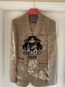 Marc Darcy Mens 3 piece suit