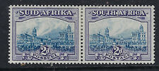 SOUTH  AFRICA:1938 2d blue and violet  SG58 mint bi-lingual pair