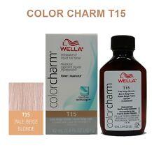 WELLA COLOR CHARM LIQUID HAIR TONER 1.4oz T15 PALE BEIGE BLONDE