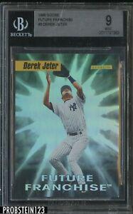 1996 Score Future Franchise #3 Derek Jeter New York Yankees HOF BGS 9 MINT