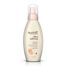 Aveeno Active Naturals Ultra-Calming Foaming Cleanser, Fragrance-Free, 6 oz