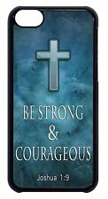 For Apple iPod 4 5 6 Cross Christian Bible Verse Case Slim Hard Back Skin Cover