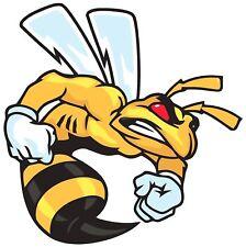 ANGRY SUPER BEE LOGO VINYL 3M USA MADE DECAL STICKER TRUCK WINDOW BUMPER WALL