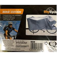 BIKE Cover protezione per le condizioni meteo-Impermeabile, Grigio, Lungo 2 METRI