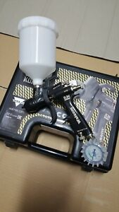 SPRAY GUN SLIM KOMBAT HTE SPECIAL EDITION BLACK nozzle 1,3 - POM C - WALCOM -
