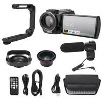 3 inch 4K Full HD 1080P LCD Digital Camcorder HDMI DV Video Camera 24MP 18X Zoom
